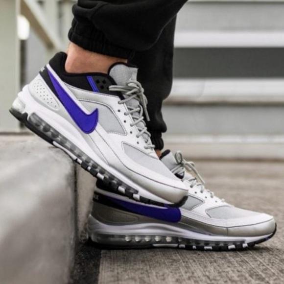 Nike Air Max 97/BW Metallic Silver Persian Violet